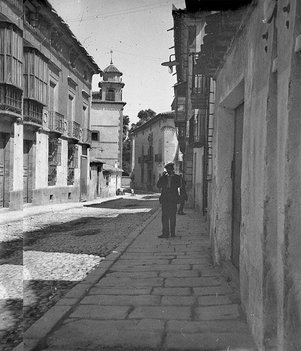 calle-alamo-casa-musso-al-fondo-foto-antigua-lorca
